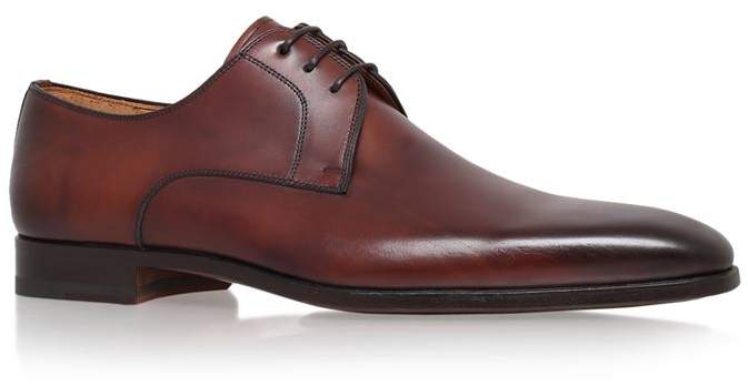 Magnanni Plain Leather Derby