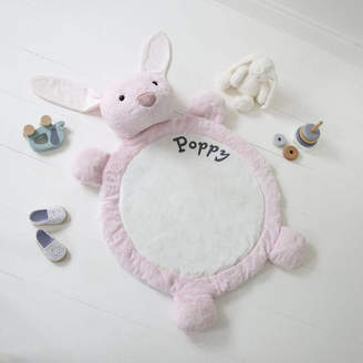 My 1st Years Personalised Pink Bunny Playmat
