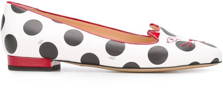 Charlotte OlympiaCharlotte Olympia Kitty slippers