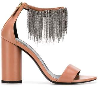 Fabiana Filippi ball chain fringe sandals