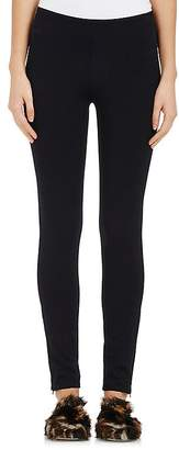 Helmut Lang Women's Ankle-Zip Twill Leggings