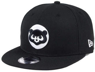 New Era Chicago Cubs Black White 9FIFTY Snapback Cap