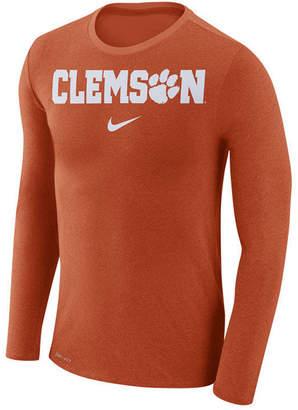 Nike Men's Clemson Tigers Marled Long Sleeve T-Shirt
