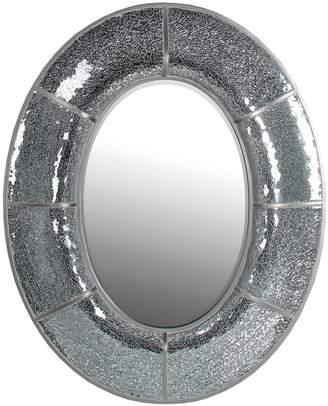 Privilege Oval Mosaic Mirror