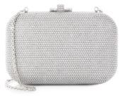 Judith Leiber Pearl-Studded Box Clutch $2,295 thestylecure.com