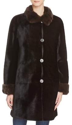 Maximilian Furs x Trilogy Reversible Sheared Mink Coat - 100% Exclusive