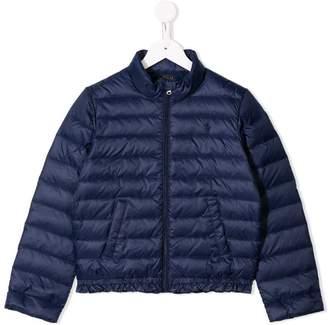 7c79f07e9 Ralph Lauren Kids frilled hem puffer jacket
