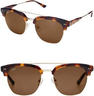 KAPTEN & SON Havana 50mm Sunglasses