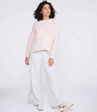 Lou & Grey Shirttail Sweater