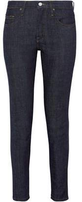 Victoria Beckham Victoria Cropped Mid-Rise Skinny Jeans