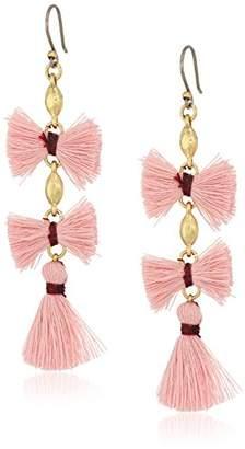 Lucky Brand Womens's Fringe Drop Earrings