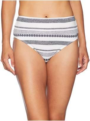 Tommy Bahama Sandbar Wide Band High-Waist Bottom Women's Swimwear