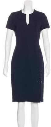 Yigal Azrouel V-Neck Knee-Length Dress
