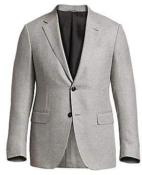 Ermenegildo Zegna Men's Textured Wool Jacket