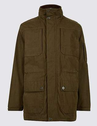 Marks and Spencer Cotton Blend Parka with StormwearTM