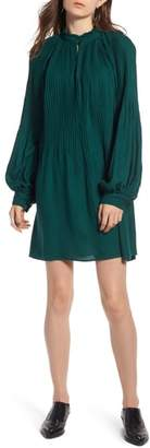 Treasure & Bond Pleated Mini Dress