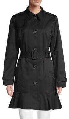 Kate Spade Ruffled Trench Coat