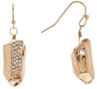 Melrose and Market Pave Stone Drop Earrings