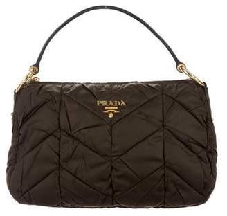 Prada Quilted Tessuto Handle Bag
