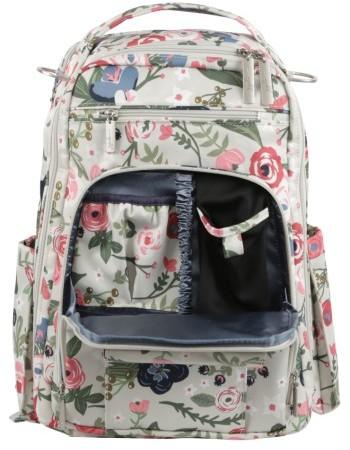 Infant Ju-Ju-Be 'Be Right Back' Diaper Backpack - Blue 5