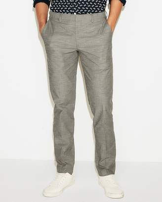 Express Extra Slim Slub Dress Pant