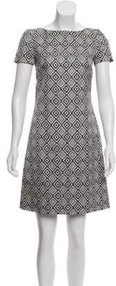 Prada Wool-Blend Shift Dress black Wool-Blend Shift Dress