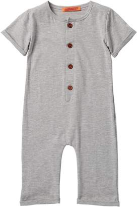 Funkyberry Heathered Romper (Baby, Toddler, & Little Girls)
