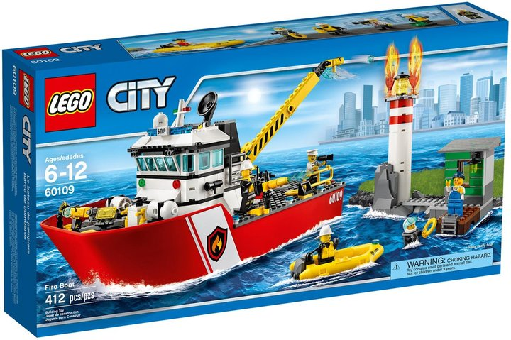 LEGO City Fire Boat- 60109