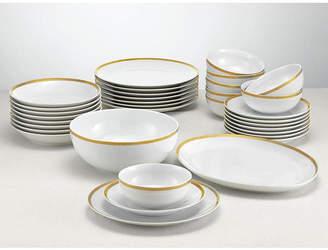 ... Martha Stewart Collection 34-Piece Gold Entertaining Set Created for Macyu0027s & Martha Stewart Dinnerware Sets - ShopStyle