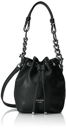 GUESS Darby Petite Drawstring Bucket $88 thestylecure.com
