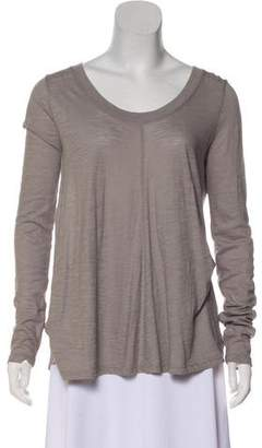 Vince Long Sleeve Knit Top