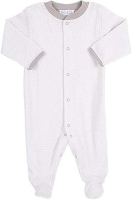 Baby CZ Neat-Pattern Footed Coverall