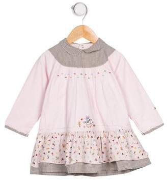 Catimini Girls' Corduroy Embroidered Dress