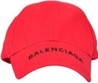 Balenciaga Embroidered Logo Hat
