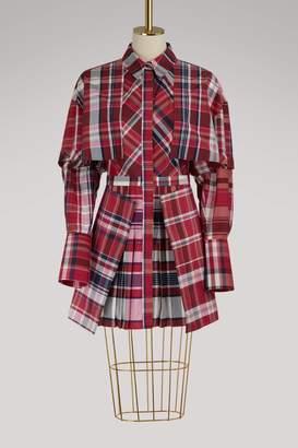 Alexander McQueen Short silk dress