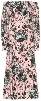 Erdem Pollina floral cotton midi dress