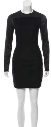 Acne Studios Long Sleeve Knee-Length Dress