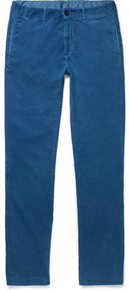 Massimo Alba Slim-fit Cotton-corduroy Trousers