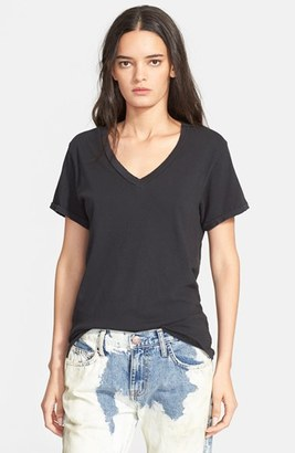 Women's Current/elliott 'The V-Neck' Tee $78 thestylecure.com