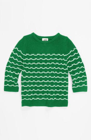 Milly Minis 'Sailor Stitch' Sweater (Little Girls & Big Girls)