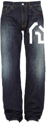 Comme des Garcons Junya Watanabe Man junya watanabe x levi's graphic selvedge denim jeans