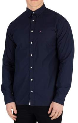 Men's Essential Poplin Shirt, Blue