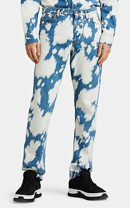 Burberry Men's Acid-Washed Slim-Fit Jeans - Blue