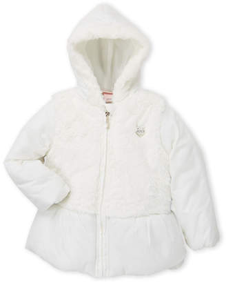 Juicy Couture Toddler Girls) Faux Fur Hooded Coat