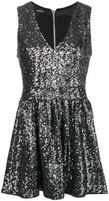 Balmain sequins mini dress