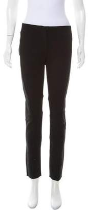 Calvin Klein Collection Mid-Rise Skinny Pants