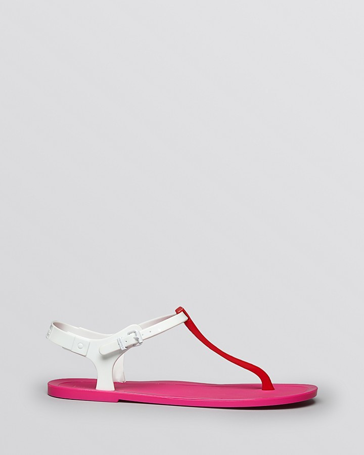 Hunter Jelly Thong Sandals - Original