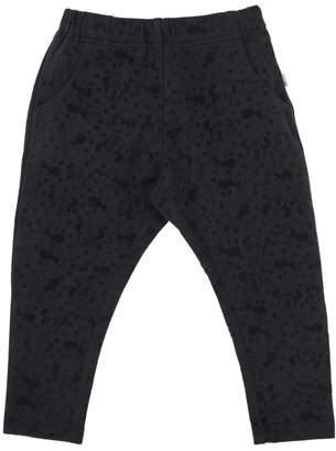 Wheat Minnie Flocked Cotton Jersey Pants