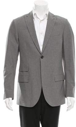 Michael Bastian Notch-Lapel One-Button Blazer