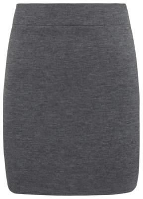 George Senior Girls Grey School Tube Skirt